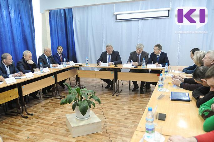 Глава Коми Сергей Гапликов призвал предпринимателей объединяться на площадке лесопромышленного кластера