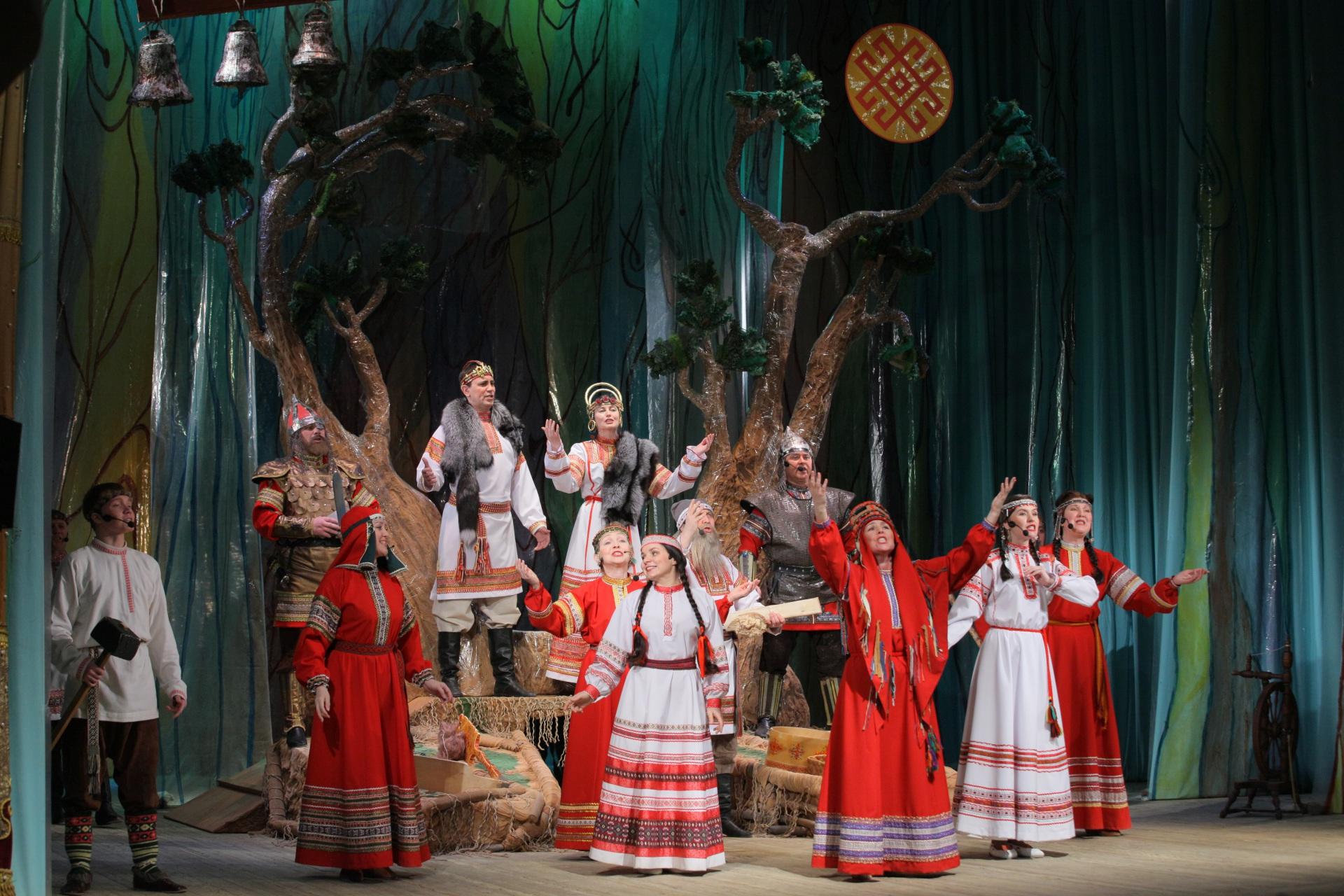Год культуры в Коми: Национальный театр Коми едет в Ухту