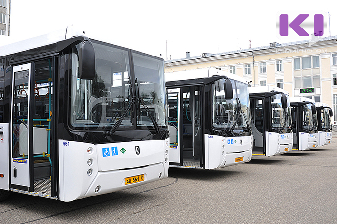 В Сыктывкаре закупят еще 20 автобусов на газомоторном топливе