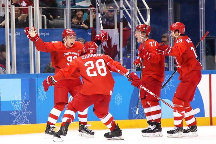 Российские хоккеисты выиграли