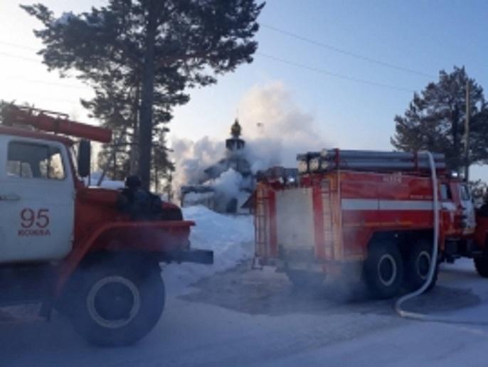 В Печоре произошел пожар в храме Николая Чудотворца