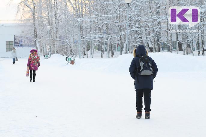 Школьники половины муниципалитетов Коми вновь могут отдыхать из-за морозов