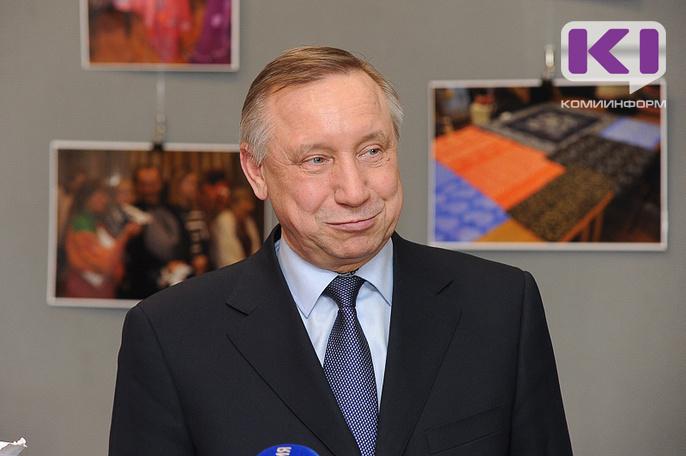 В Коми прибыл полномочный представитель президента России в СЗФО Александр Беглов