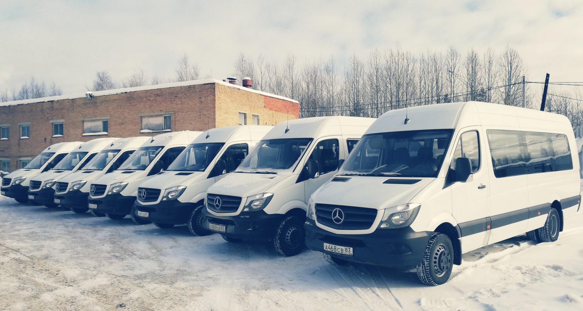 17 новых автобусов прибыли в столицу Коми