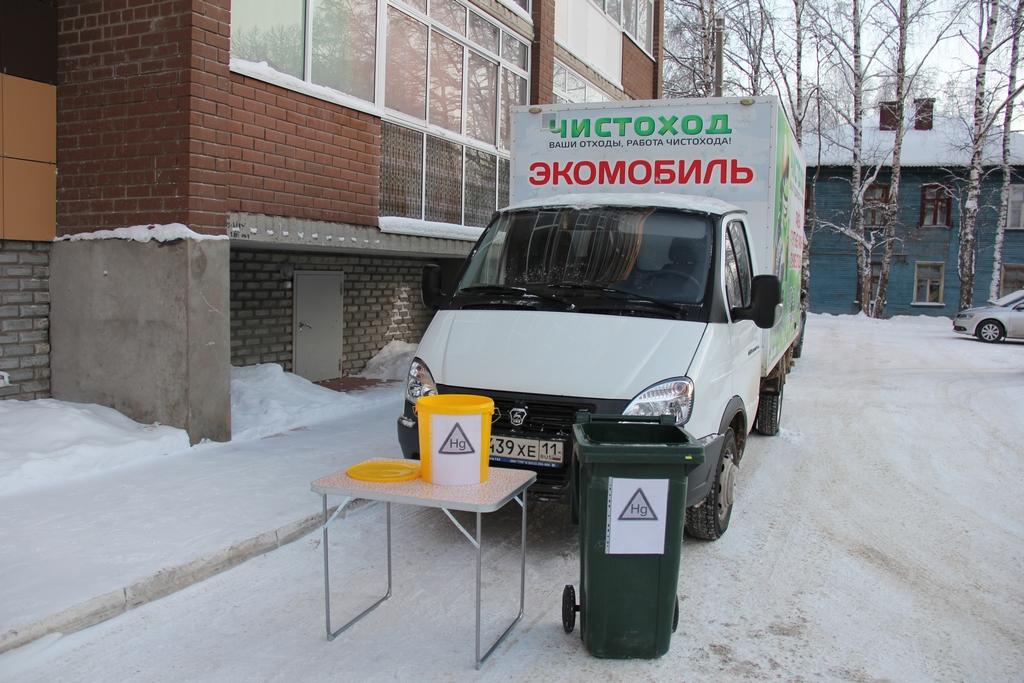 В Сыктывкаре появятся контейнеры для сбора отработанных батареек
