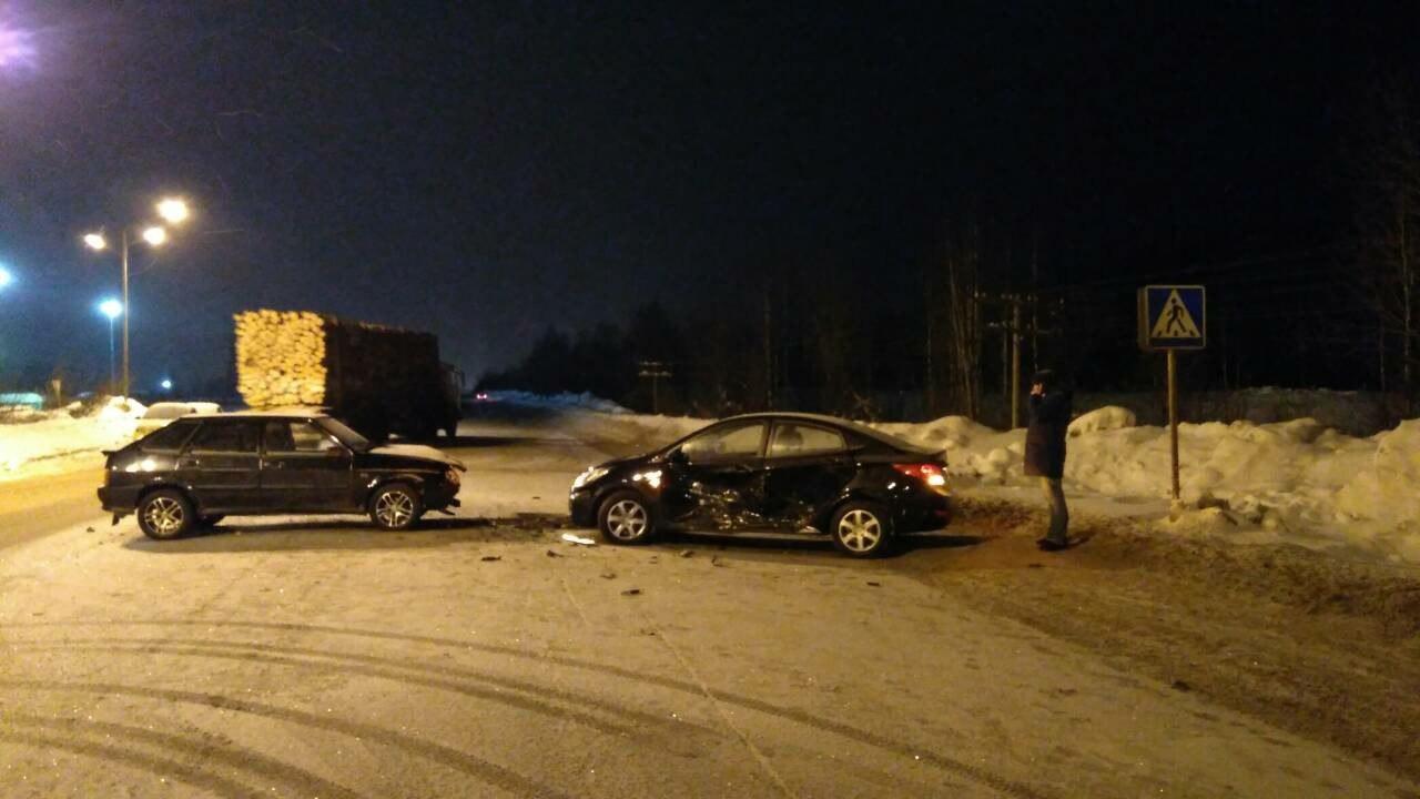 На трассе Сыктывкар-Эжва в автомобильной аварии пострадал ребенок