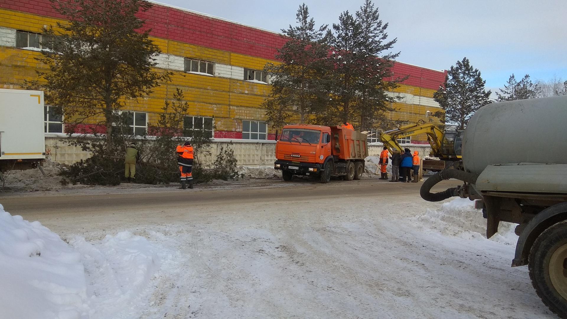 Восстановить водоснабжение в Сыктывкаре обещают в течение часа