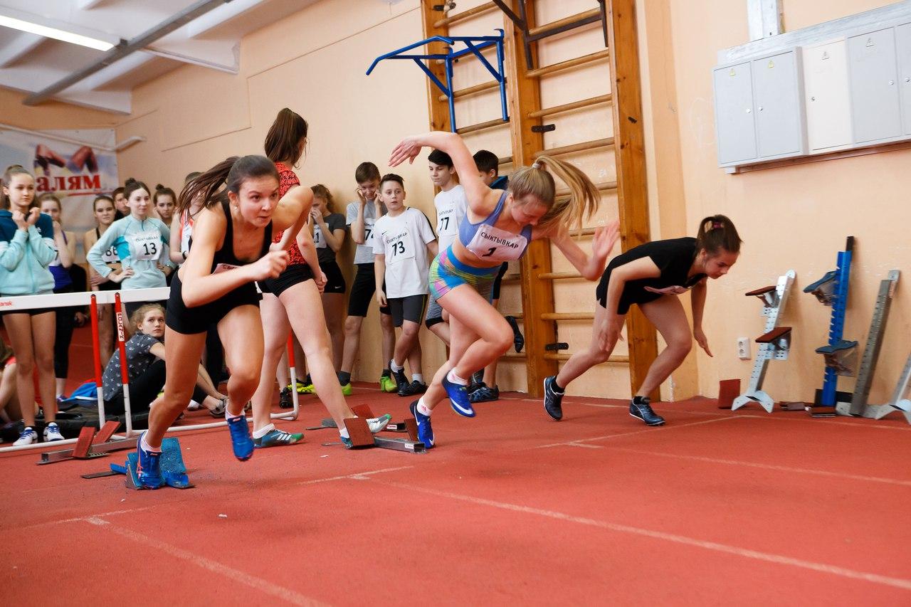В Сыктывкаре стартовал Кубок Республики Коми по легкой атлетике