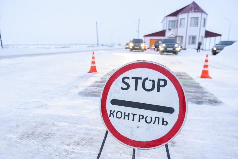 Движение по зимней автодороге Нарьян-Мар - Усинск закрыто ...
