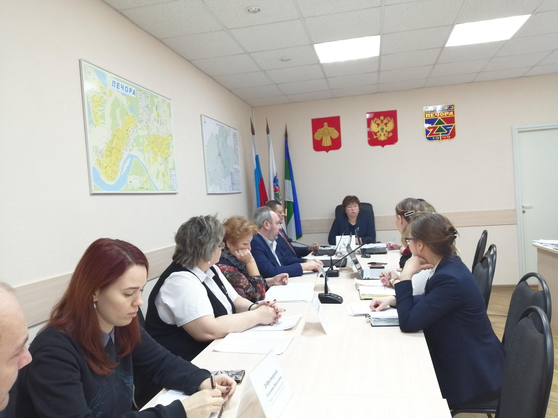В Печоре подвели итоги реализации проектов по благоустройству города