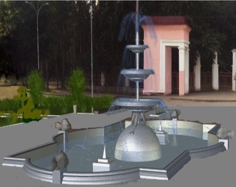 В Ухте на 29 млн рублей благоустроят Октябрьскую площадь и установят фонтан