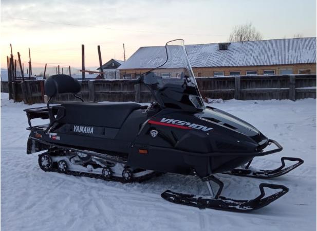 Владимир Уйба передал снегоход для лыжной трассы в поселке Озерный