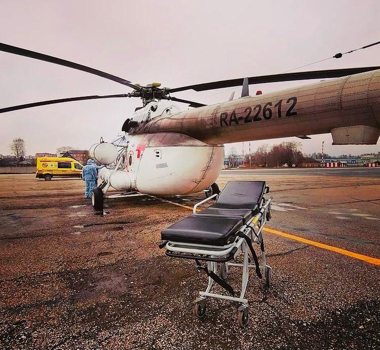 Санавиация в Коми с начала года помогла спасти жизни 250 северян