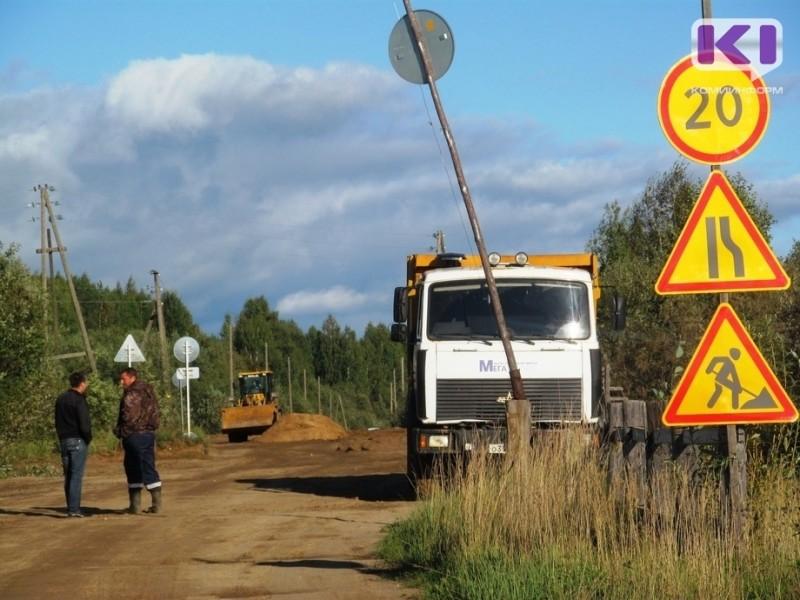В Коми отремонтировали восемь участков трасс в рамках федеральной программы БКАД